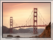San Francisco, Golden Gate, Stany Zjednoczone, Most
