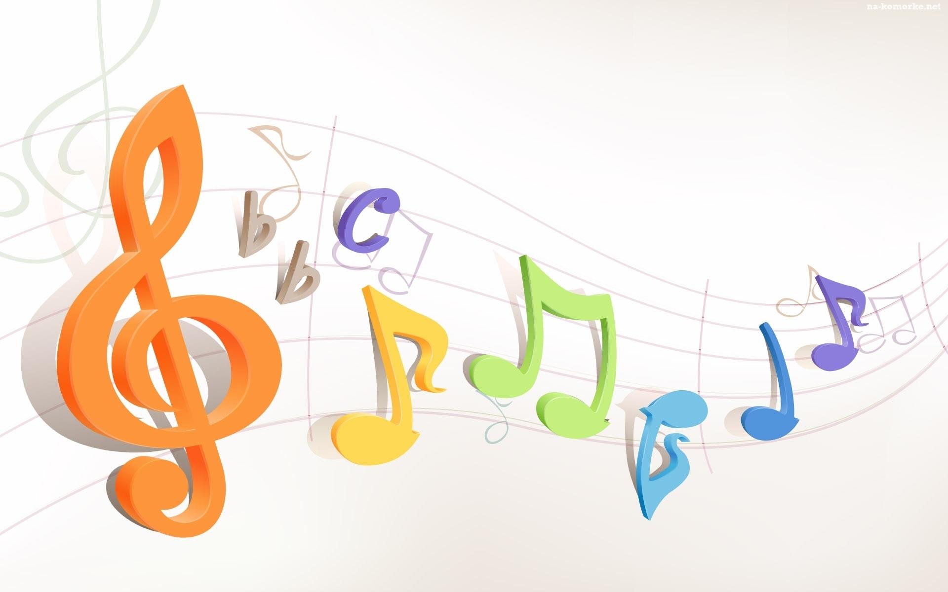 Muzyka , Nuty, Pięciolinia na Komórkę