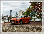 Jaguar F-Type SVR Coupe, Orange Metallic, 2016-2017