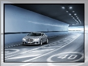 Bentley Continental GT, Tunel