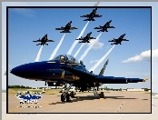 Blue Angels, Boeing, F/A-18