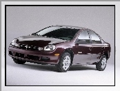 Bordowy, Chrysler Neon, Sedan