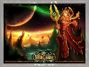mężczyzna, World Of Warcraft The Burning Crusade, fantasy, elf