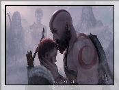 Syn, Gra, God of War, Kratos, Atreus
