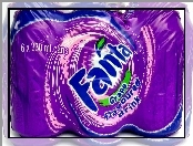 Fanta, Grape, Sześciopak