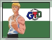 logo, Great Teacher Onizuka, biceps, facet, gto