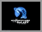 Hitchhikers Guide To The Galaxy, napis, kciuk