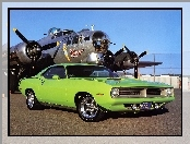 Plymouth Barracuda, Car, 1970, Muscle