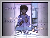 Serial Experiments Lain, lustro, zlew