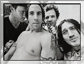 Chad Smith, John Frusciante, Anthony Kiedis, Flea