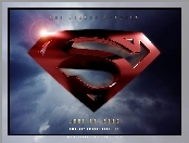 Superman Returns, niebo, logo, znak