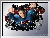 Superman Returns, pięści, Brandon Routh, szkło