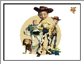 Toy Story 2, Bohaterowie