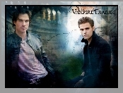 Pamiętniki wampirów, Paul Wesley, The Vampire Diaries, Ian Somerhalder