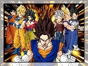 Vegetto, postacie, Goku, Vegeta