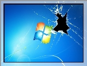 Windows 7, Rozbity, Monitor