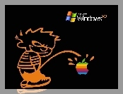 Windows, Apple, XP, Kontra