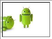 Roboty, Zielone, Android