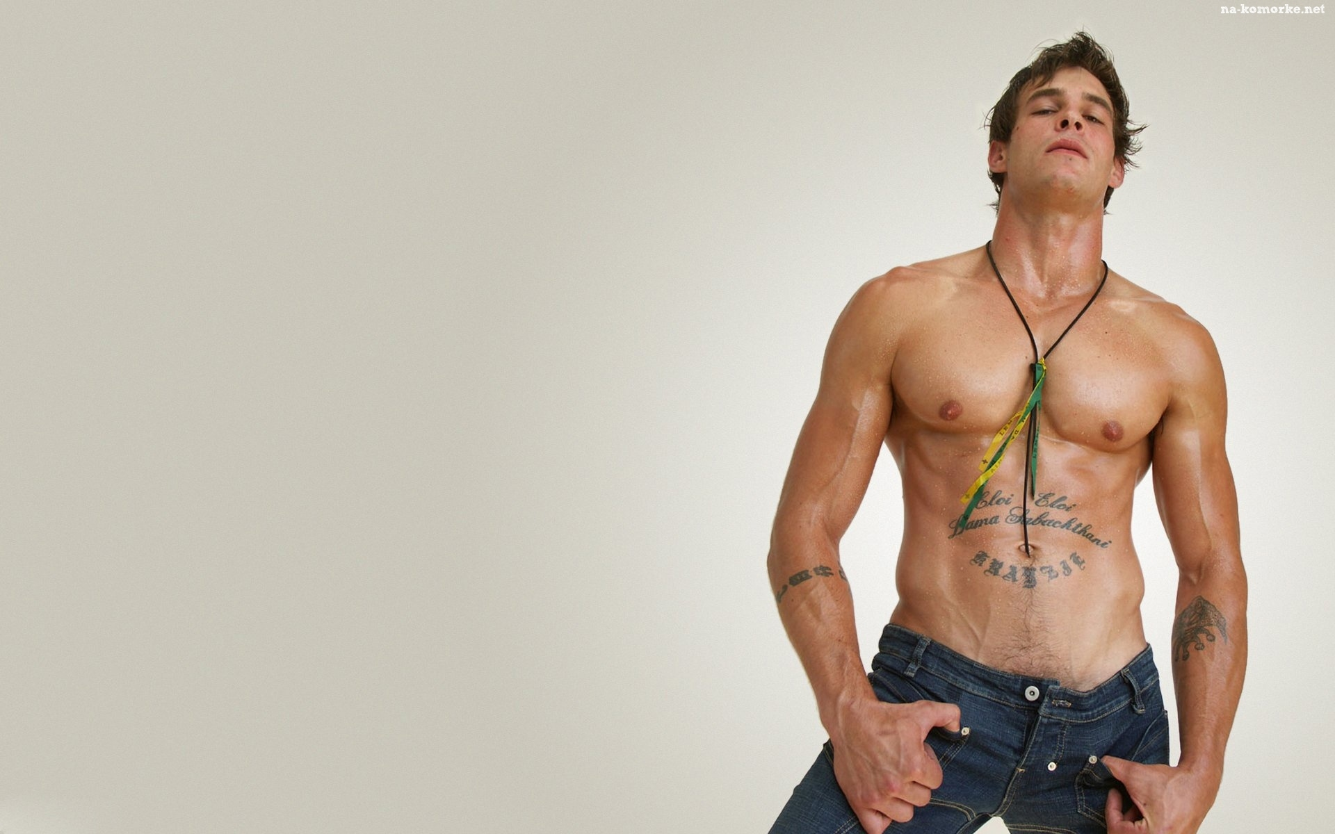 Brzuch Facet Super Ciało Tatuaż Na Komórkę