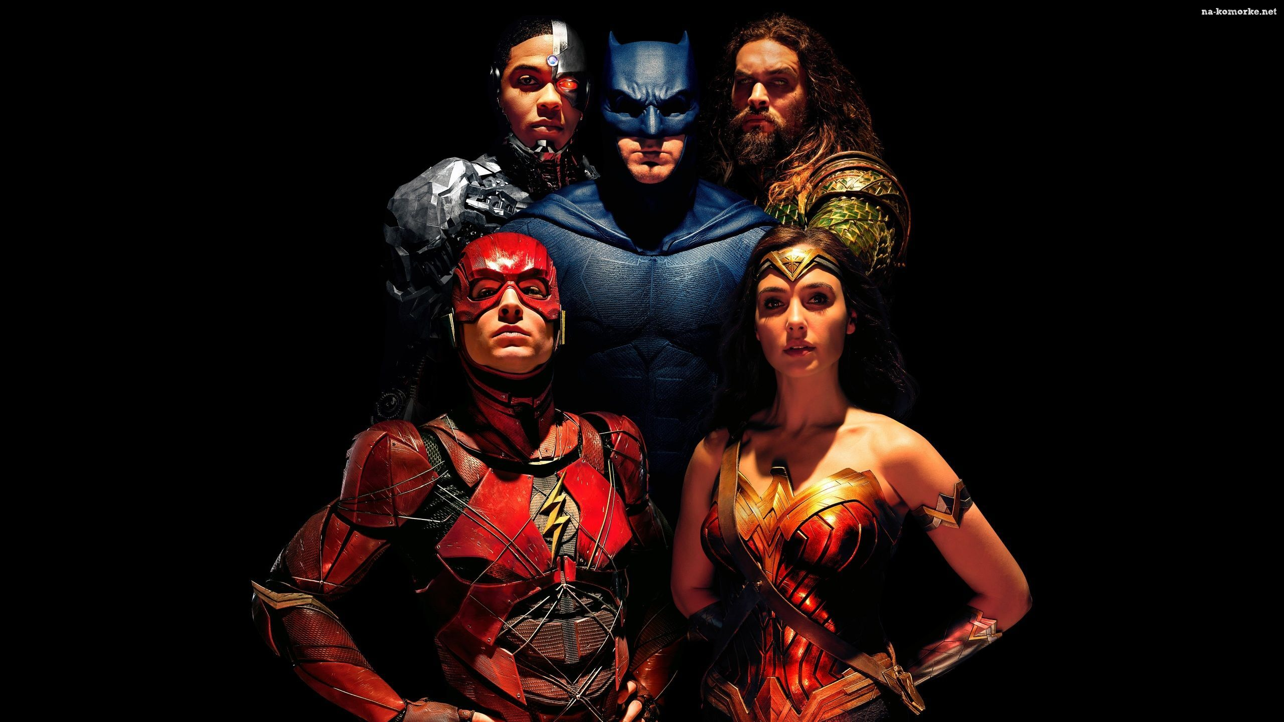 Film, Ezra Miller - Flash, Liga Sprawiedliwości, Gal Gadot - Wonder Woman, Justice League, Ray Fisher - Cyborg, Ben Affleck - Batman, Jason Momoa - Aquaman